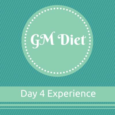 Vegetarian Indian GM Diet Day 4