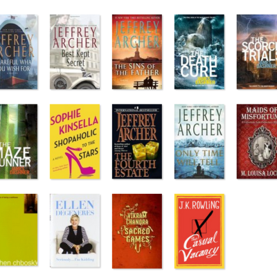Goodreads Book Challenge Apr 2015 Booklist